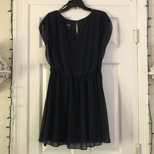 By & By Navy Dress NWOT
